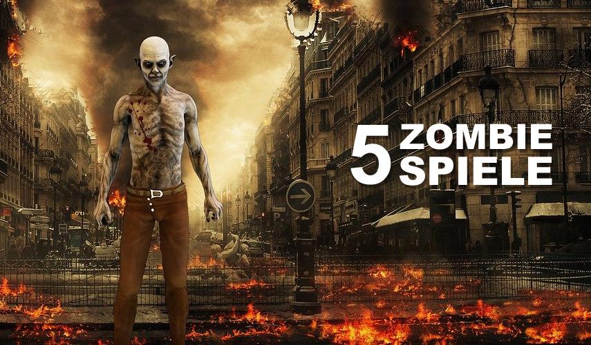 Zombieapokalypse | 5 Zombie Spiele für PC Beitragsbild