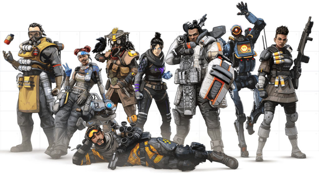 Apex Legends helden