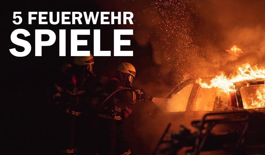 5 Feuerwehrspiele für PC Beitragsbild